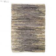 Dywanik WEAVE, 70x140 cm, fioletowo-piaskowy