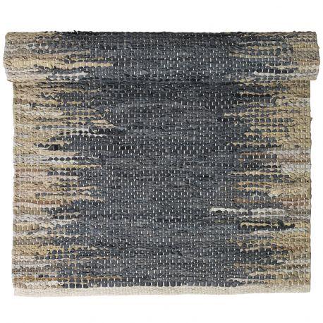 Dywanik WEAVE, 140x200 cm, niebiesko-piaskowy - Broste Copenhagen