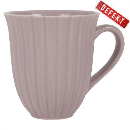 Kubek ceramiczny MYNTE, lawendowy - DEFEKT
