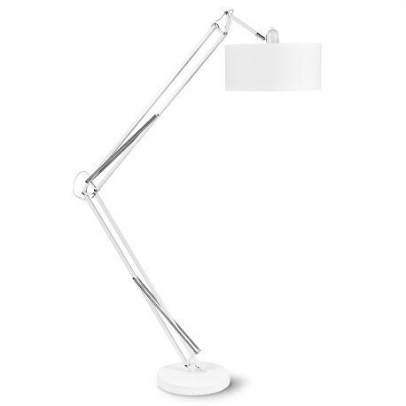 Lampa podłogowa MILANO biała podstawa