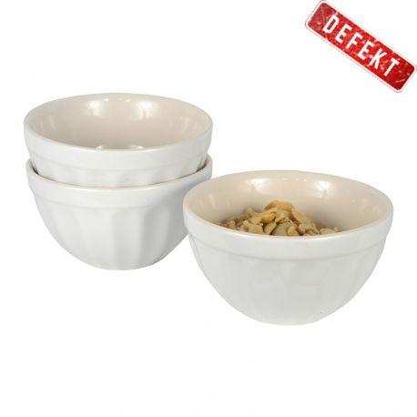 Miseczka ceramiczna MYNTE, biała - DEFEKT 1