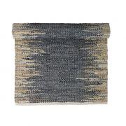 Dywanik WEAVE, 60x90 cm, niebiesko-piaskowy