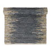 Dywanik WEAVE, 70x140 cm, niebiesko-piaskowy