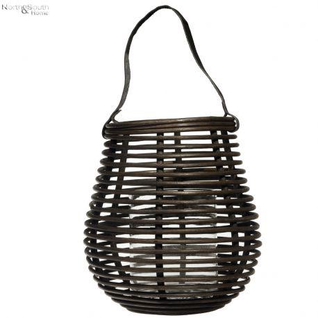 Lampion rattanowy - Hübsch