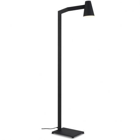 Lampa podłogowa BIARRITZ czarna