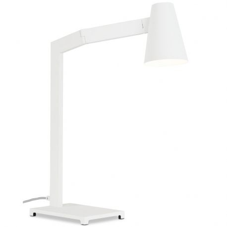 Lampa biurkowa BIARRITZ biała