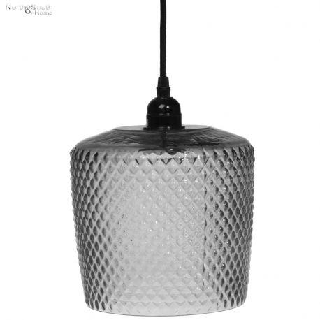 Lampa wisząca STRUCTURE, czarna, wzór I