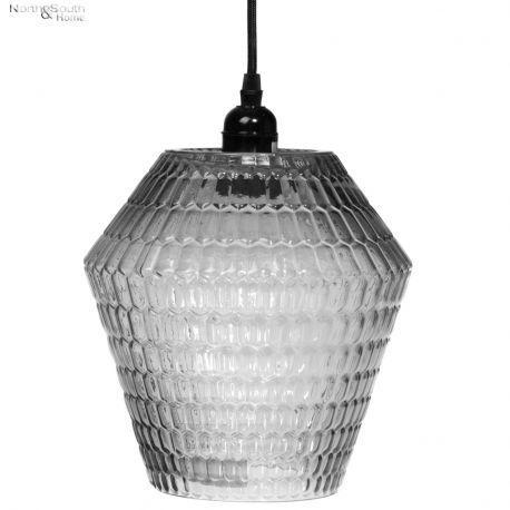 Lampa wisząca STRUCTURE, czarna, wzór II
