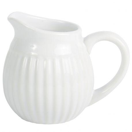 Dzbanuszek ceramiczny na mleko MYNTE, biały - Ib Laursen