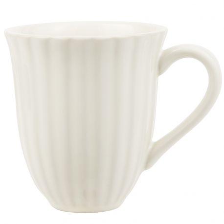 Kubek ceramiczny MYNTE kremowy - Ib Laursen
