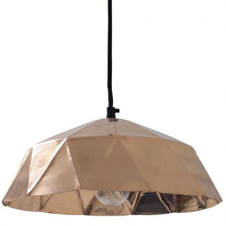 Lampa Diamond, miedziana - HK living