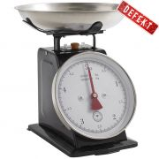 Waga kuchenna 5 kg, czarna - DEFEKT 1