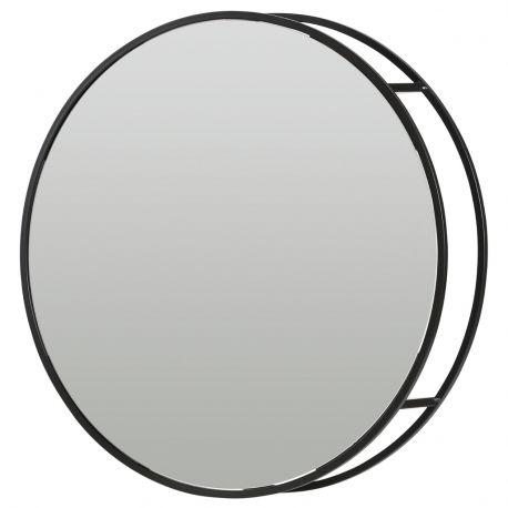 Lustro OLIVIA okrągłe - Woood