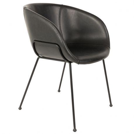 Fotel  FESTEN,  czarny