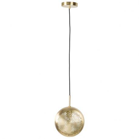 Lampa wisząca GRINGO FLAT, mosiądź - Zuiver