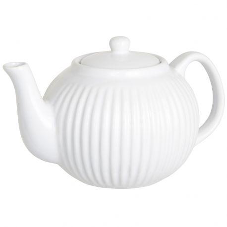 Czajniczek ceramiczny MYNTE BIAŁY - Ib Laursen
