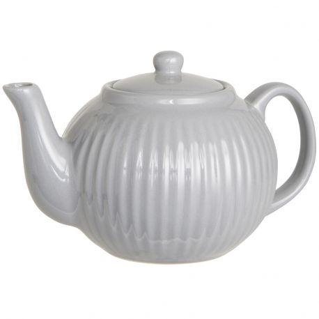 Czajniczek ceramiczny MYNTE szary - Ib Laursen