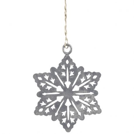 Ozdoba świąteczna metalowa PŁATEK ŚNIEGU - Ib Laursen