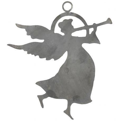 Ozdoba świąteczna ANIOŁEK metalowy - Ib Laursen