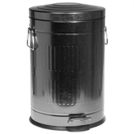 Kosz na śmieci, ocynk, 20 litrów - Nordal