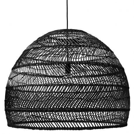 Lampa wiklinowa rozmiar L, czarna  - HK living