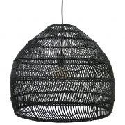 Lampa wiklinowa rozmiar M, czarna  - HK living