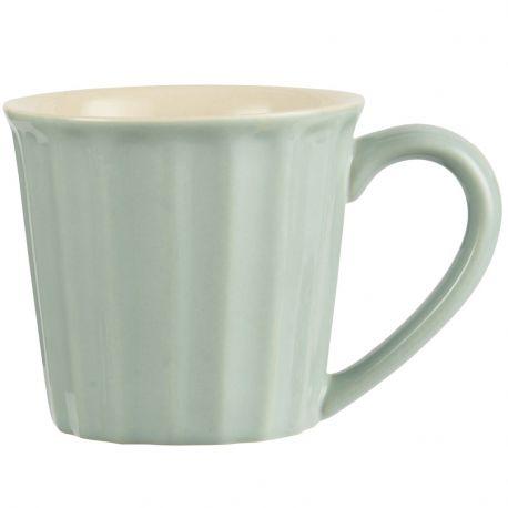 Kubek ceramiczny z uchem MYNTE, Green Tea - Ib Laursen