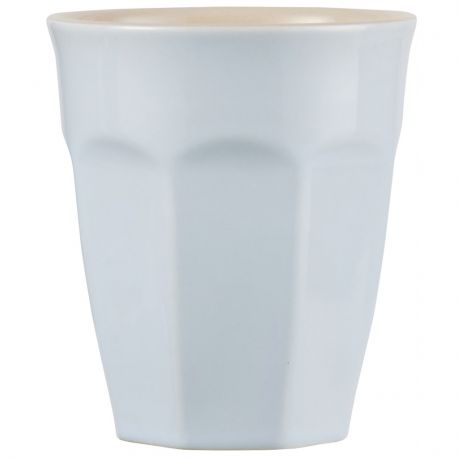 Kubek ceramiczny MYNTE mały błękitny - Ib Laursen