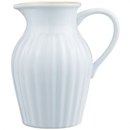 Dzbanek ceramiczny duży, błękitny - Ib Laursen