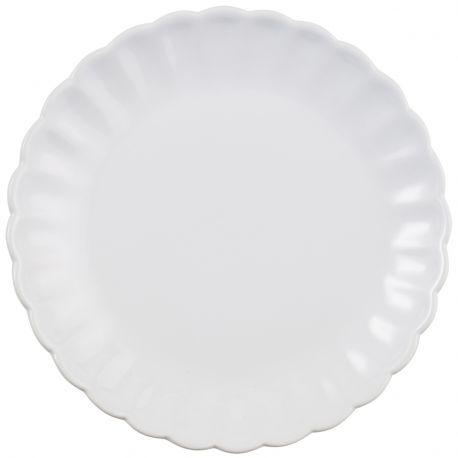 Talerz okrągły duży MYNTE, biały - Ib Laursen
