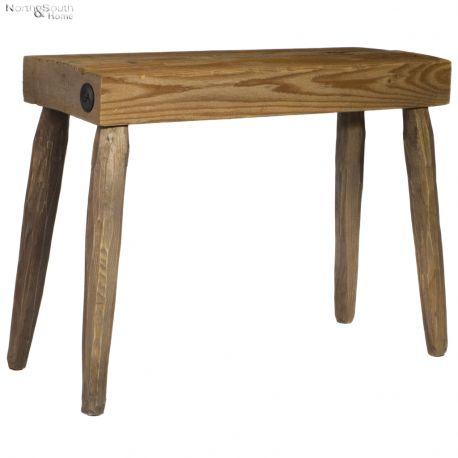 Ławka drewniana, naturalna - Projekt Stołek