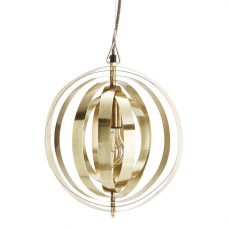 Lampa wisząca, złota - Madam Stoltz