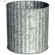 Osłonka na doniczkę, metalowa, XL