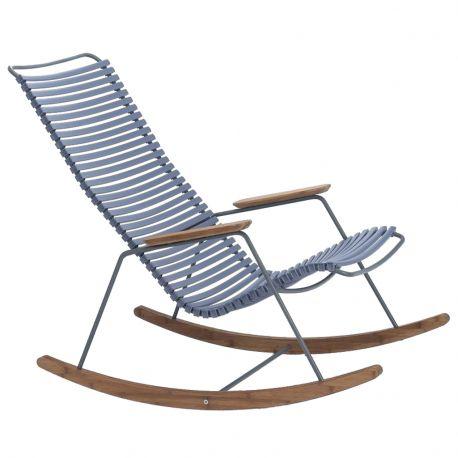 Fotel bujany CLICK, niebieski 82 - Houe