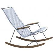 Fotel bujany CLICK, ,  jasnoniebieski 80