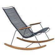 Fotel bujany CLICK, ,  ciemnoniebieski 91