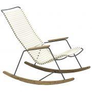 Fotel bujany CLICK, , biały 22