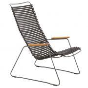 Krzesło CLICK LOUNGE, czarne 20