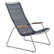 Krzesło CLICK LOUNGE, ciemnoniebieskie 91