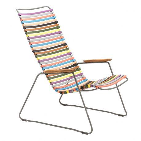 Krzesło CLICK LOUNGE, multicolor 1 83 - Houe