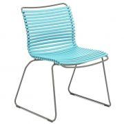 Krzesło CLICK, turkusowe 78
