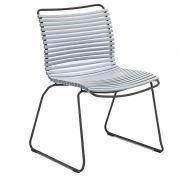 Krzesło CLICK, jasnoniebieskie 80