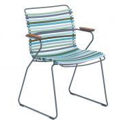 Krzesło CLICK z podłokietnikami, multicolor 2 84
