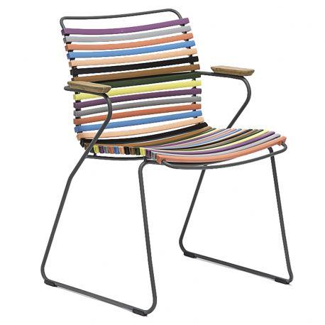 Krzesło CLICK z podłokietnikami, multicolor 1 83 - Houe