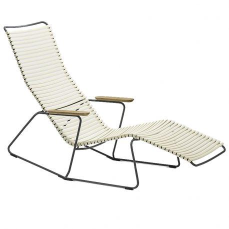 Krzesło CLICK SUNROCKER, białe 22 - Houe