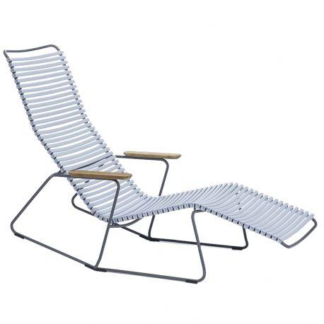 Krzesło CLICK SUNROCKER, jasnoniebieskie 80 - Houe