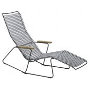 Krzesło CLICK SUNROCKER, szare 39