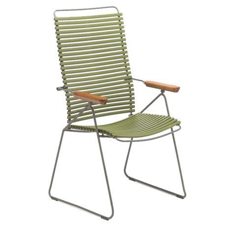 Krzesło CLICK wysokie, regulowane, oliwkowe 71 - Houe