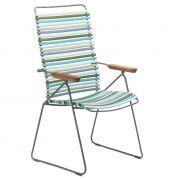 Krzesło CLICK wysokie, regulowane, multicolor 2 84
