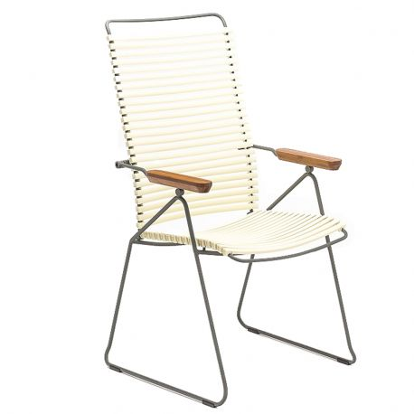 Krzesło CLICK wysokie, regulowane, białe 22 - Houe